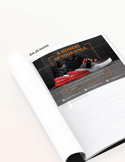 Basic Product Magazine Ads Template