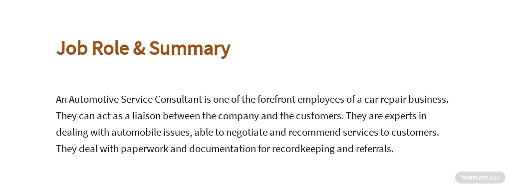 Free Automotive Service Consultant Job Ad/Description Template 2.jpe