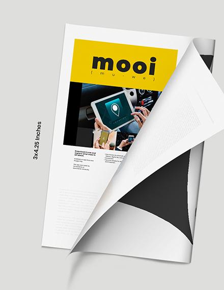 Digital School Magazine Format