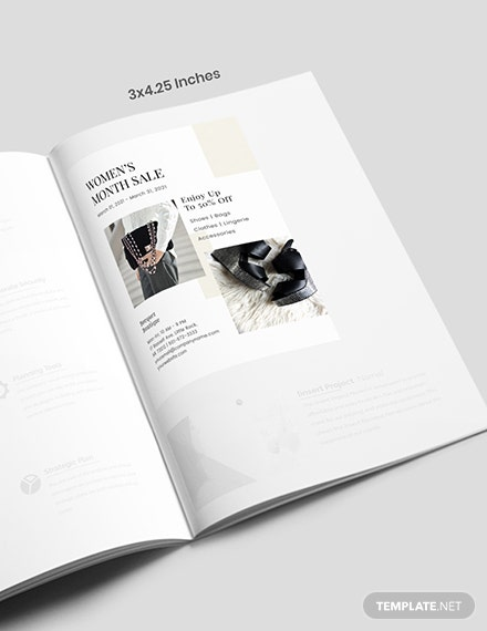 Sample DIY fashion magazine ad