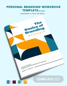 Personal Branding Workbook Template