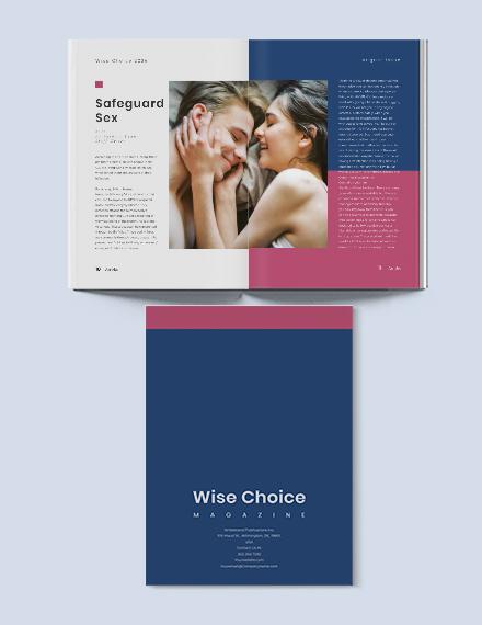 Sample Health Care Magazine