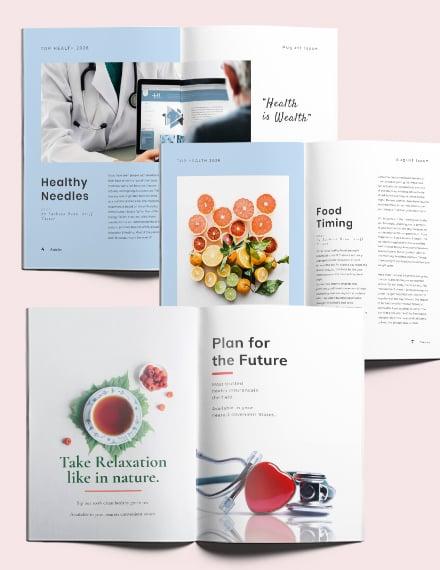 Simple Health Magazine Download