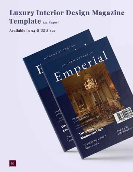 luxury interior design magazine