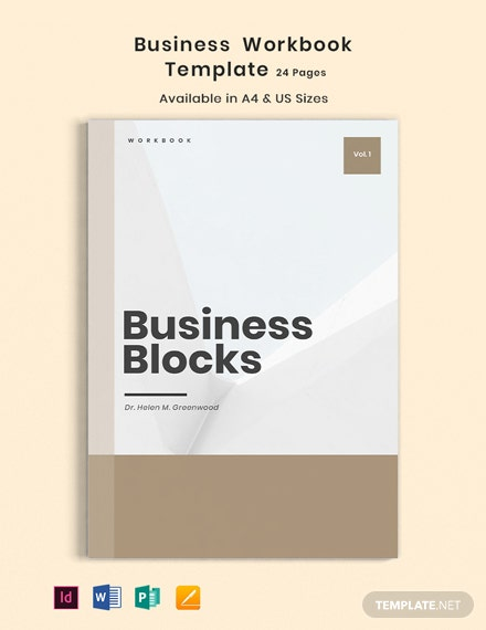 Business Workbook Template