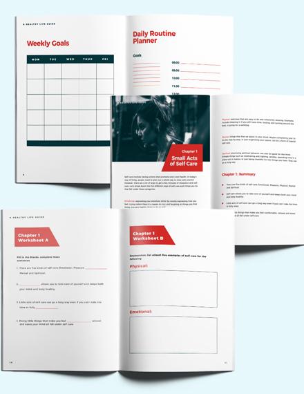 Health Lifestyle Workbook Download