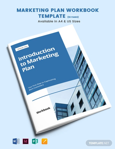Marketing Plan Workbook Template