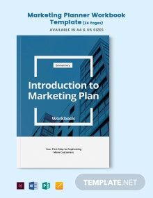Marketing Planner Workbook Template