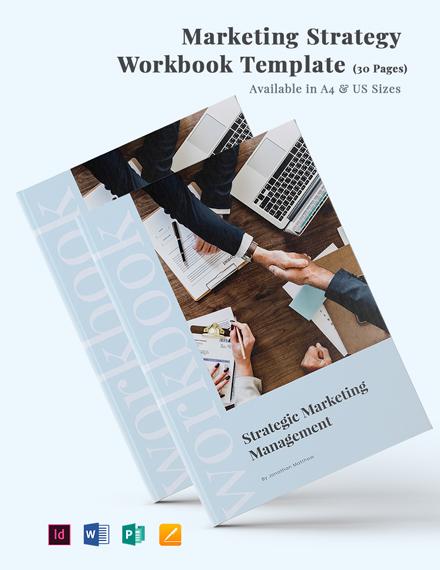 Marketing Strategy Workbook Template