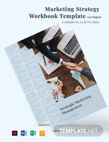 Marketing Strategy Workbook Template