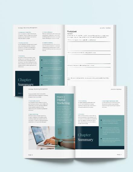 Small Business Workbook Template