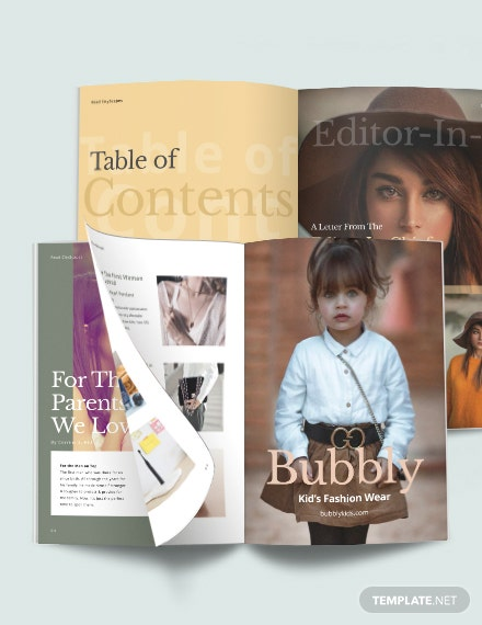 Holiday Sale Magazine Template