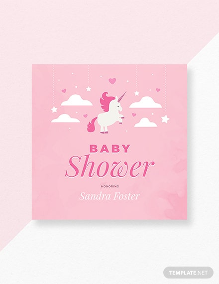 Free Baby Shower Card Template