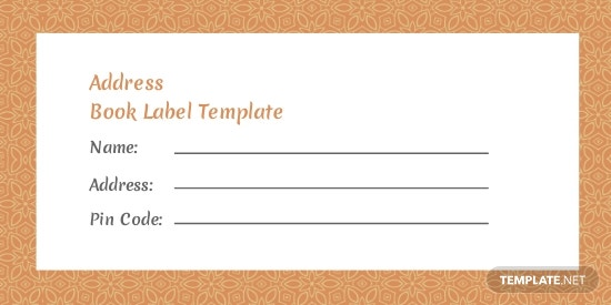Address Book Label Template.jpe