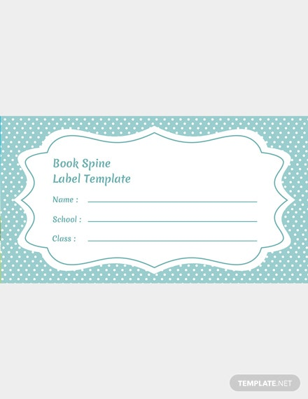 Book Spine Label Template from images.template.net