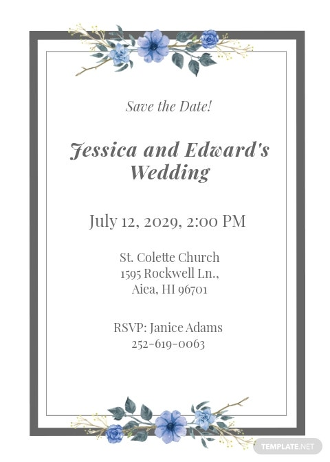 Free Wedding Invitation Card Template.jpe