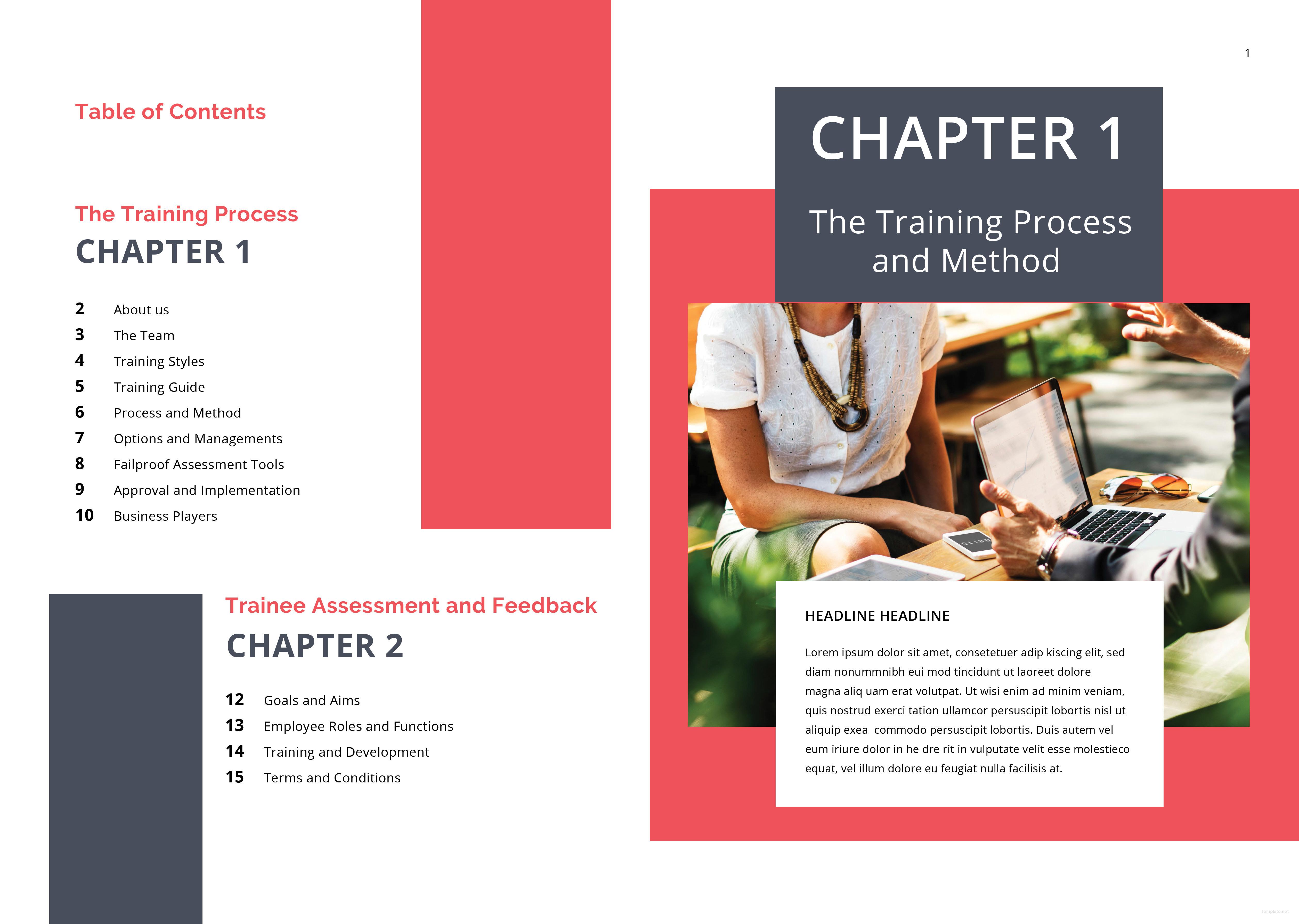 Editable Training Program Proposal