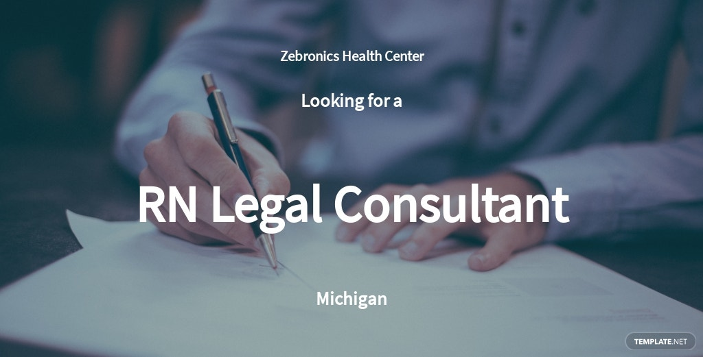 RN Legal Consultant Job Description Template