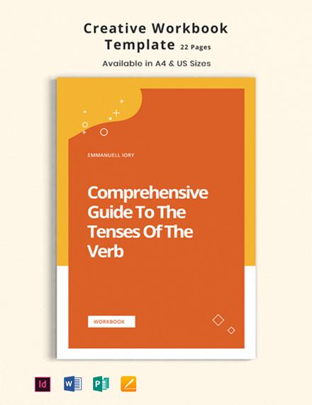 Creative Workbook Template