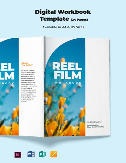 Digital Workbook Template