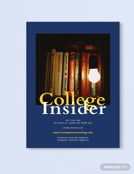 Sample Layout College Magazine