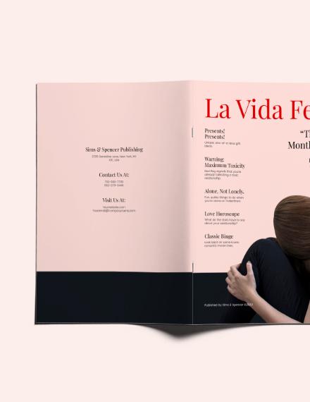 Sample Lifestyle Magazine