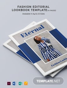 Fashion Editorial Lookbook Template