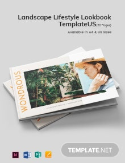 Landscape Lifestyle Lookbook Template