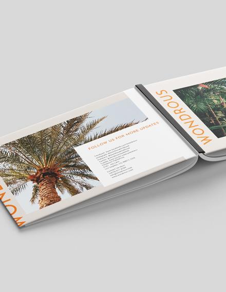 Sample Landscape Lifestyle Lookbook