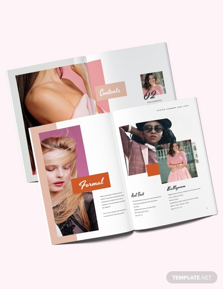 Photography Fashion Lookbook Template