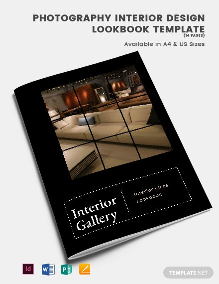 Photography Interior Design Lookbook Template