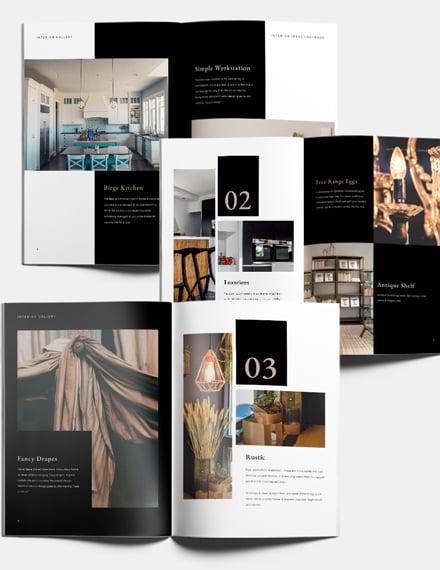 Photography Interior Design Lookbook Download