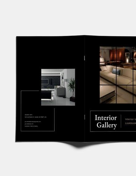 Sample Photography Interior Design Lookbook