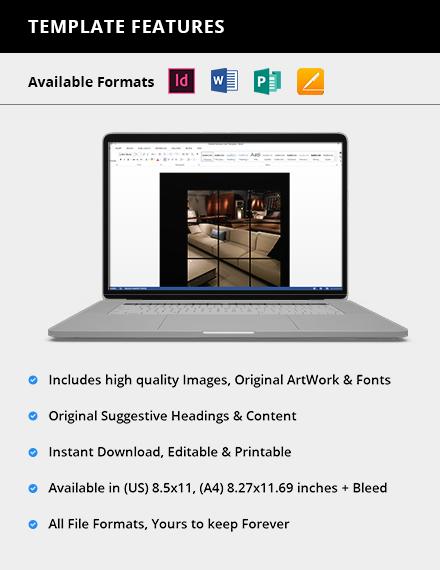 Simple Photography Interior Design Lookbook