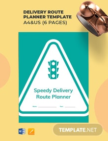 Delivery Route Planner Template
