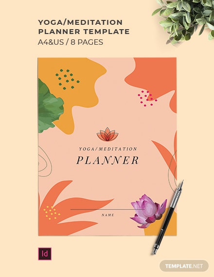 Yoga/Meditation Planner Template