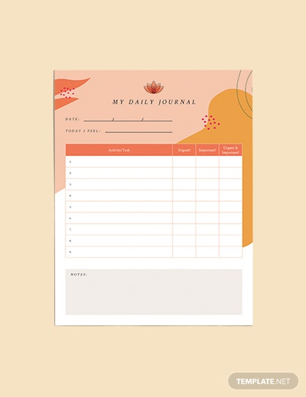 Printable Yoga Meditation Planner