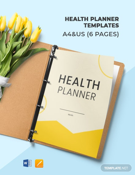 Health Planner Template