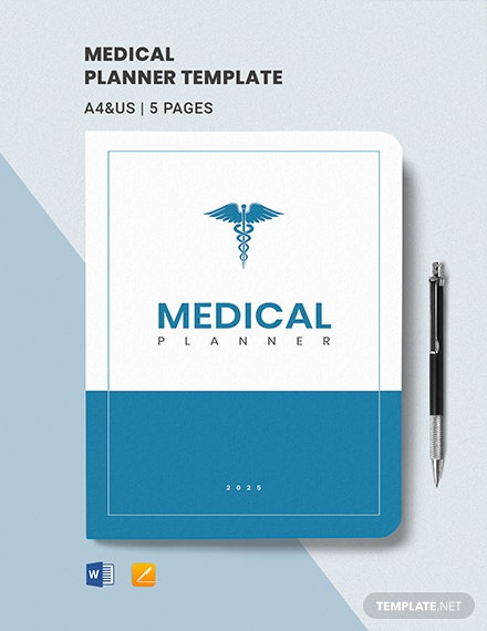Medical Planner Template