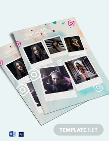 Instagram Photo Collage Template