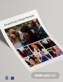 Simple Photo Collage Template