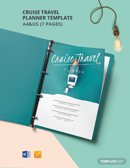 Cruise Travel Planner Template