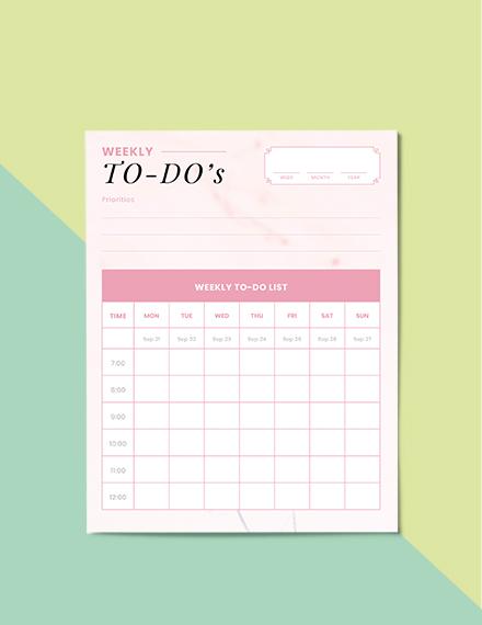 To Do Life Planner Printable