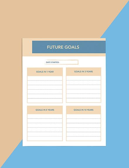 Goals Life Planner Download