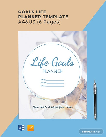 Goals Life Planner
