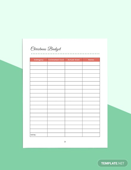 Christmas Holiday Planner Download
