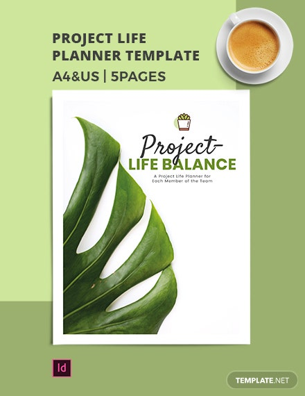 Project Life Planner Template