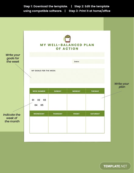 Project Life Planner Example