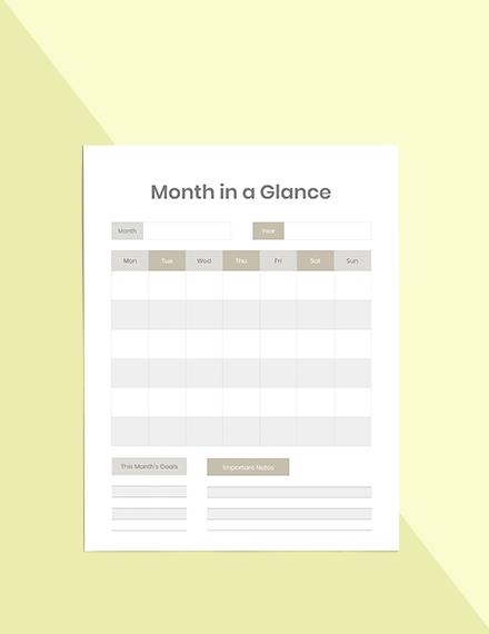 Personal Life Planner Printable