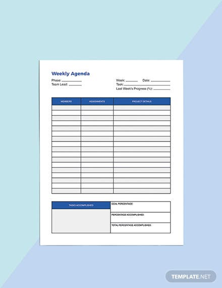 Life balance Planner Template Download